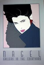 Patrick Nagel 30% OFF Contemporary Woman 1970 -1989 Large Art Deco Serigraph