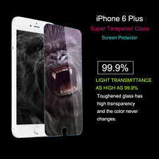 Tempered Glass Film Screen Protector Iphone 6 Plus 100% 5.5 Inch Hd Well Made