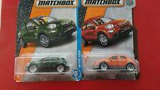MATCHBOX FIAT 500X '16 verde e arancio