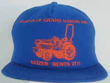 Kubota Of Grand Rapids Inc Keizer Rents It Blue Orange Snapback Mesh Trucker Hat