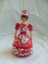 Vintage Wooden Doll Trinket Box