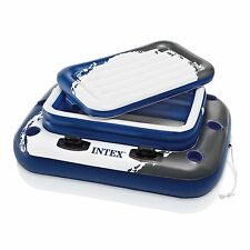 Intex 58821EP Inflatable Mega Chill II 72 Can Beverage Cooler Float With Lid