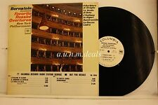 "Bernstein Conducts Favorite Rossini Overtures - Columbia LP 12"" (VG) (PROMO)"