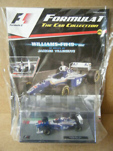"""Panini F1 Car collection """"WILLIAMS FW19- 1997"""" Jacques Villeneuve. New & Sealed."""