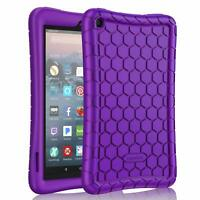 For All-New Amazon Fire 7 9th Generation 2019 Tablet Silicone Case Cover