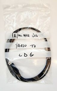 Cable to fit YAESU FTDX10 / FTDX1200/FT950/FT450 to LDG tuner cable