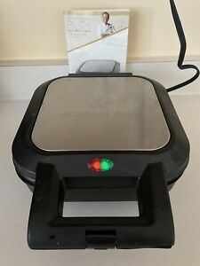 """Wolfgang Puck Pie & Pastry Maker 9"""" BPM00040 Black/Stainless Steel 1200W Tested"""