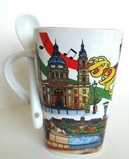 Budapest Hungary Mug & Spoon Set 10oz Collectors Coffee Tea