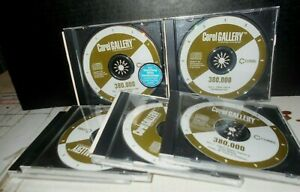 Corel Gallery 6 of 7 CD-ROMS Set 380,000 Various Clipart Images Software 1999
