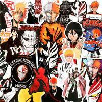 Bleach Anime Stickers 50pcs Pack Decals for Laptop Skateboard Snowboard Luggage