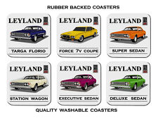 Leyland P76 Executive Targa Florio Force 7v Deluxe Super 6 Rubber drink Coasters