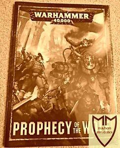Prophecy Of The Wolf CAMPAIGN BOOK - Ragnar Blackmane Ghazghkull Thraka 40k