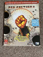 Prima Official Strategy Guide Red Faction 2