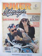 Biker Lifestyle  Magazine November 1984  Jailhouse Lawyer Crazy Horse