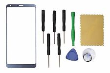 Ice Platinum Outer Front Screen Glass Lens Replacement For LG G6 LS993 +Tools