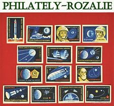 Safety Matches Czechoslovakia set matchbox labels 1963 Space J.A.Gagarin (N 58)