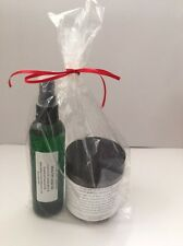Anti Cellulite Body Sugar Scrub Essential Oils Coconut Body Oil 2 pcs Gift set