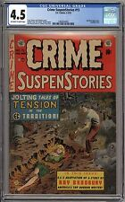 Crime SuspenStories 15 - CGC 4.5 Off White to White Pages - Bondage Cover