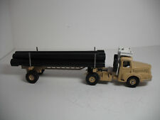 RARE FRENCH DINKY SUPERTOYS #39b-F UNIC SAHARIEN PIPE TRUCK W/ 5 PIPES NEAR MINT