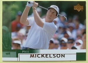 Phil Mickelson 2002 Rookie Upper Deck Rookie Card #41 2021 PGA Championship