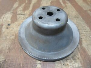 1968-1972 Chevrolet C20 truck water pump pulley v8 engine 350 327 hot rod