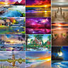 Full Drill Landscape DIY 5D Diamond Painting Cross Stitch Embroidery Wall Decor