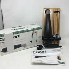 Cuisinart CEK-40 Electric Knife 2 Stainles Blades & Butcher Block Stand in Box