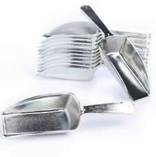 Silver Plastic Candy Scoops Wedding Buffet Dessert Party Kitchen 5.5in 2oz Scoop