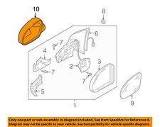 VW VOLKSWAGEN OEM Jetta Door Side Rear View Mirror-Cover Right 1K0857538GRU