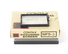 Contax 645 Focusing Screen MFS-3 Boxed
