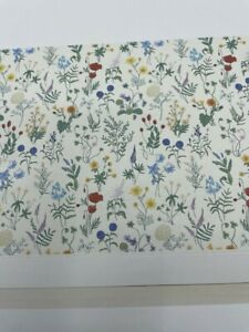 New Pottery Barn Kids Sadie's Summer Floral Wallpaper