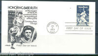 UNITED STATES BABE RUTH 1983 FIRST DAY COVER III