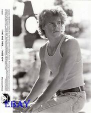 Craig Sheffer buff VINTAGE Photo That Was Then...This Is Now