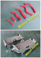 Aluminum Radiator &silicone Hose Honda CR125R/CR 125 R 1992-1997 1993 1995 1996