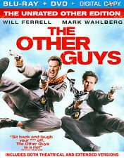 The Other Guys Blu-ray/Dvd New / sealed + slipcover ( shows wears) No digital