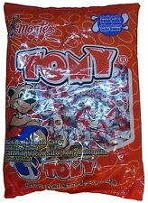 Montes Tomy Rich Butterscotch Candies 6oz Bag Mexican Candy Dulce