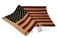 Sewn Cotton American Flag | USA | United States | Stars Stripes | Size 42 x 20""