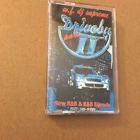 WF DJ Supreme Driveby #2 R&B Hip Hop Blends RARE NYC 90s Cassette Mixtape Rap