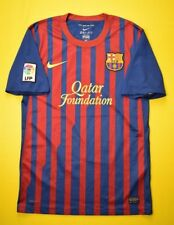 5/5 BARCELONA SPAIN 2011~2012 ORIGINAL FOOTBALL HOME SHIRT JERSEY SOCCER NIKE
