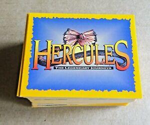SET OF 210 MERLIN HERCULES THE LEGENDARY JOURNEY'S  STICKER SET LOOSE 1996