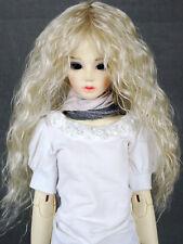 """JD22 6-7"""" Long  Blonde 1/6 BJD YO-SD SD BJD Doll Super Dollfie Wig"""