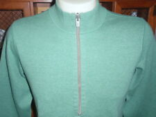 TOMMY BAHAMA Men's Sweater 98% Cotton 2% Spandex Size M Long Sleeve Half Zip EUC