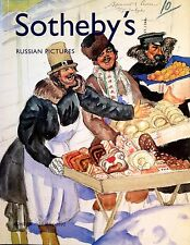 Sotheby's Catalog RUSSIAN PICTURES, COSTUME DESIGNS, PAINTINGS 5/2002 London