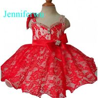 Jenniferwu Infant/toddler/kids/baby/children Girl's Pageant/prom Dress G213