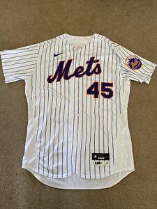 Michael Wacha 2020 New York Mets Game Issued Pinstripe Baseball Jersey -MLB Holo