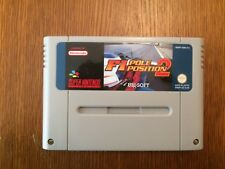 SUPERBE JEU SUPER NINTENDO SNES F1 POLE POSITION 2 EN LOOSE