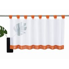 6 Size Ready Made Voile Net Curtains Available Cafe Panel Kitchen Bathroom