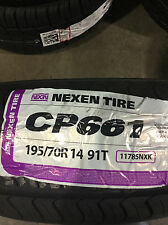 1 New 195 70 14 Nexen CP661 Tire