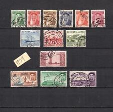KUWAIT  MIDDLE EAST  COMPLETE  SET OF POSTALLY USED STAMPS HCV  LOT (KOWEIT 230)