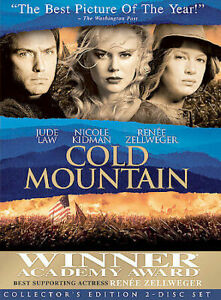 Cold Mountain DVD COLLECTOR'S EDITION (2DISC) Jude Law Nicole Kidman Drama Movie
